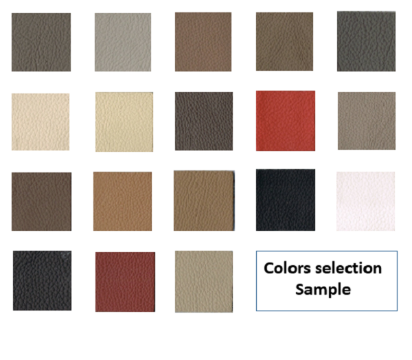 Sofa upholstery package colors