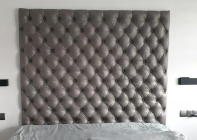 Headboad upholstery