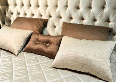 bed headboard upholstery image